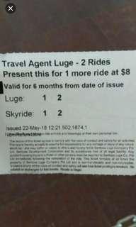 Luge Ticket