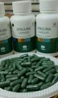 Masker Spirulina dijual per 10 kapsul