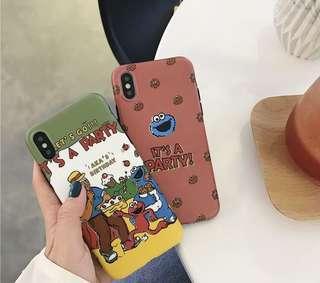 芝麻街iPhone Case