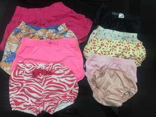 Take all!! Baby girl's panties!