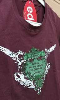 Esprit Maroon Tshirt