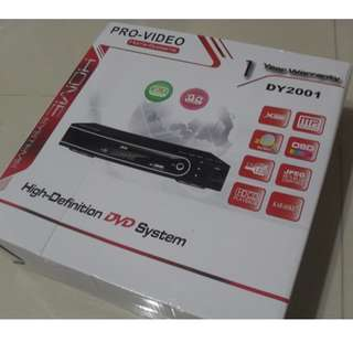 BN DVD player with USB slot