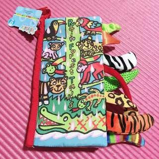 🚚 Jolly baby Cloth Nook Rain Forest Tails