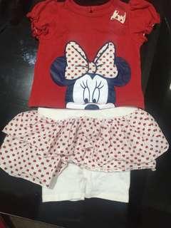 Disney Baby minnie mouse set
