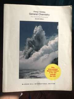 GENERAL CHEMISTRY 7th Edition (Chang Goldsby)