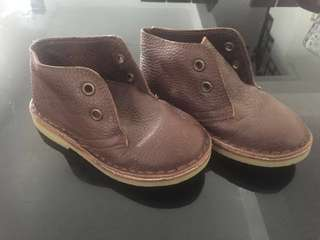 Benetton leather shoes