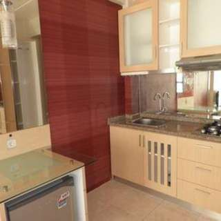 Apartemen tahunan All type Kosongan/Full Furnish Sentra Timur Residence