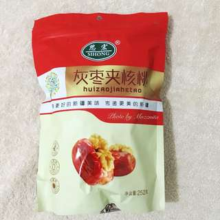 【中國帶回】新疆美味紅棗夾核桃 252g 中國代購 大陸代購 海外代購