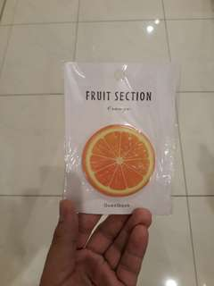 Sticky note pad / post it notes - Fruits and Vege