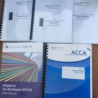 Latest ACCA P6 Kaplan notes