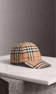 Burberry Vintage Cap