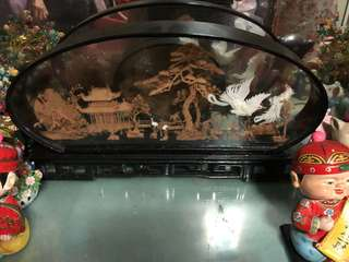 Antique Chinese Wooden Display works