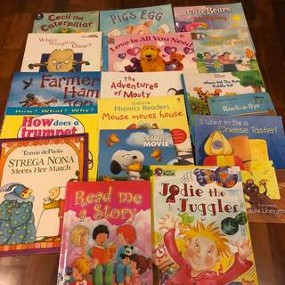 🚚 17X various children's books