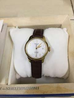 Tissot leather watches