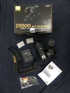 Nikon D5500+18-55mmkit