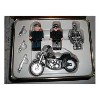 魔鬼終結者2 terminator 2 judgment day  FIGURES WITH BIKE