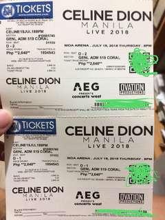 Celine Dion Gen Ad July 19
