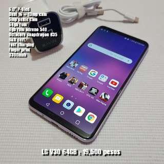 LG V30 64gb 4gb ram
