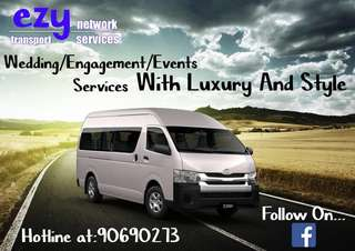 13 seater bus for charter