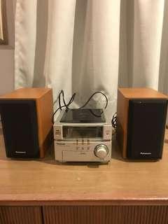 Panasonic mini system w/ CD player