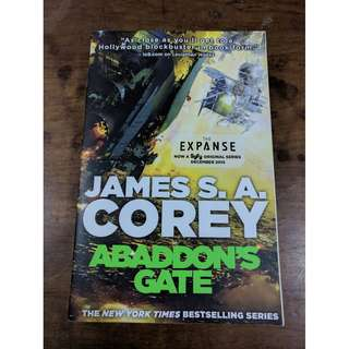 Abaddon's Gate by James SA Corey (The Expanse Book 2)