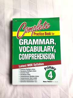 English workbook for primary 4