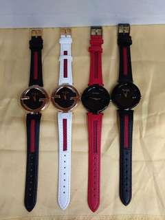 Gucci leather watch oem