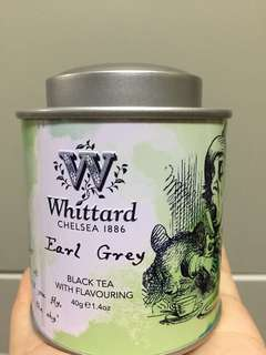 Whittard - Alice in Wonderland Mini Caddy (Earl Grey)