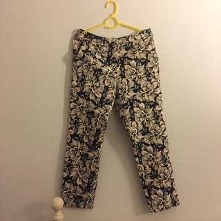 TOPSHOP Printed Pants