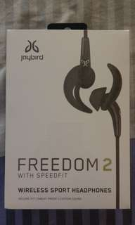 Sealed BNIB Jaybird Freedom 2 with speedfit