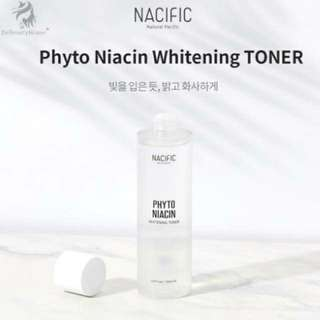 Natural Pacific (Nacific) Phyto niacin whitening toner 150ml✔