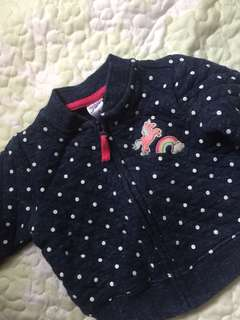 carter's baby girl jacket ( 3 mos.)