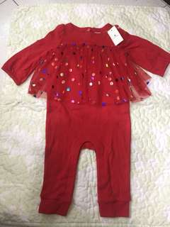 baby gap overall jumpsuit (6-12 mos.)