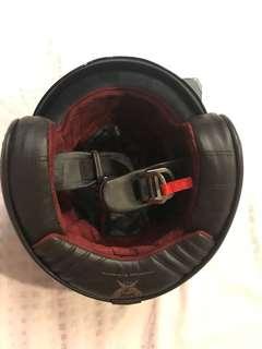 CMS carbon fiber helmet