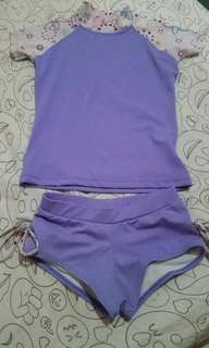 Swimsuit Terno for 3-4 years old
