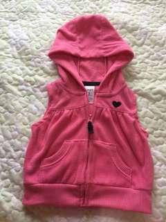carter's baby hoodie ( 3 mos.)