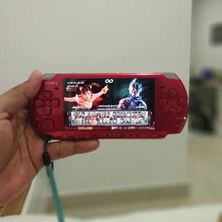 Sony PSP 3006 Red
