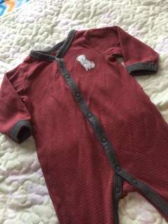 carters baby frogsuit ( 3 mos.)
