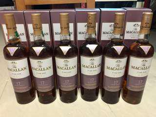 Macallan Fine Oak 17 (已停產)(hold)