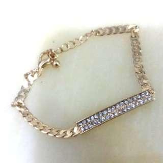 Forever 21 bling bling bracelet