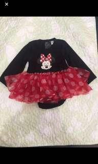 H&M Disney Minnie tutu onesie ( 6-9 mos.)