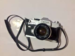 Canon Ftb QL Film Camera