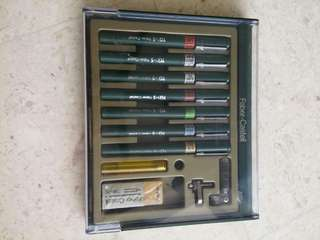 Vintage Castell Faber Technical Pen Set