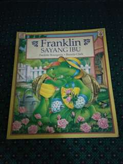 Buku cerita anak Franklin Sayang Ibu