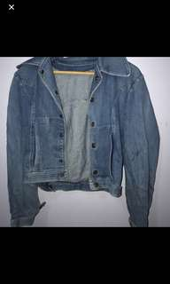 Vintage denim jacket size small