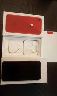 Brand New Iphone 8 RED 64GB