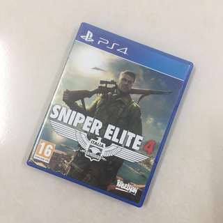 Ps4 used game: Sniper Elite 4