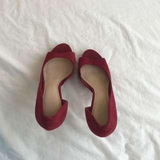 Heels, sandals