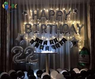 🚚 Happy Birthday Balloons Set (INSTOCK)