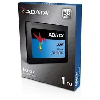 "Brand New ADATA SSD 1TB SU800 3D NAND 2.5"""